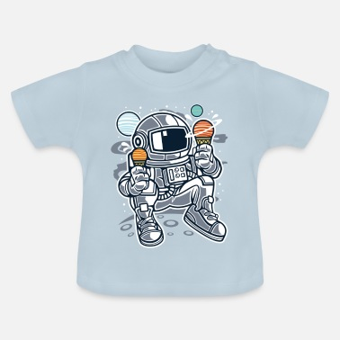 Babyshower Astronaut Ice Cream - Baby T-shirt