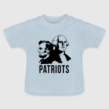 Patriot Patriot USA amerikanske præsidenter - Baby T-shirt