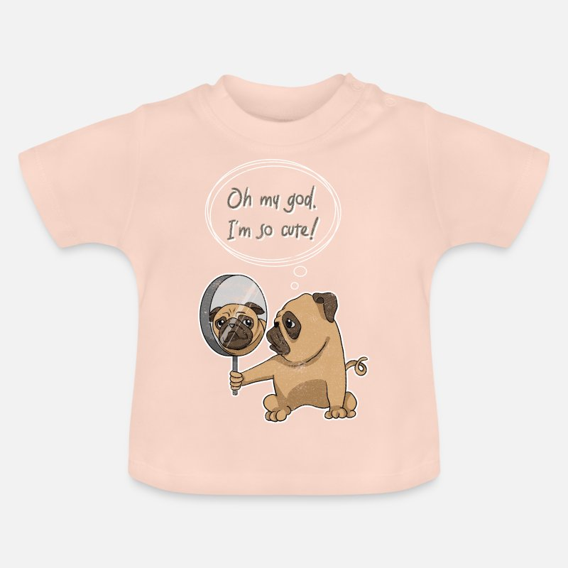 c50686a6a Cute Pug Baby T-Shirt | Spreadshirt