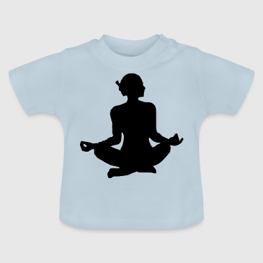 Yoga exercise - Baby T-Shirt