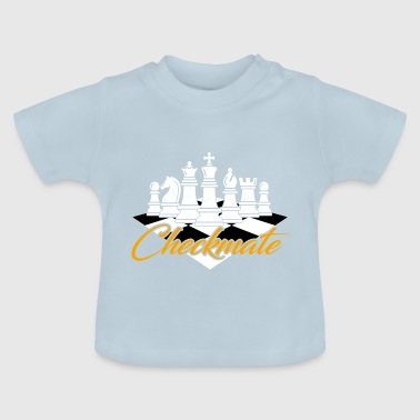 Echecs - Selle Matt Checkmate - T-shirt Bébé