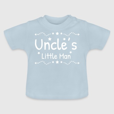 Uncle's little husband uncle godfather gift - Baby T-Shirt