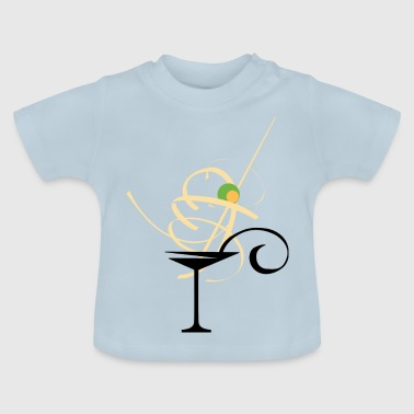 Martini - Art - Baby T-Shirt