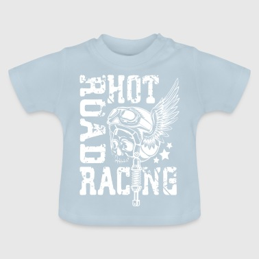 Hot Racing Motorcycle - Baby T-Shirt