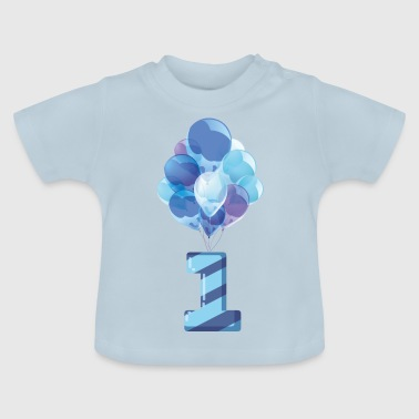 Baby's first birthday (boy) - Baby T-Shirt
