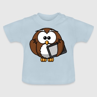 cartoon uil 16 - Baby T-shirt