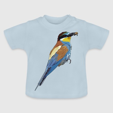 Beautiful bird with bee in the beak - Baby T-Shirt