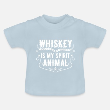 Whiskey Whiskey is mijn geestendier - Baby T-shirt