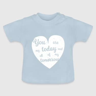 Bryllup engagement - Baby T-shirt