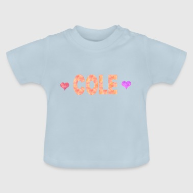 Cole - Baby-T-shirt