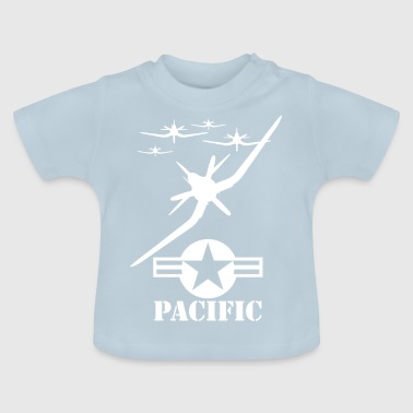 pacific wite - Baby-T-skjorte
