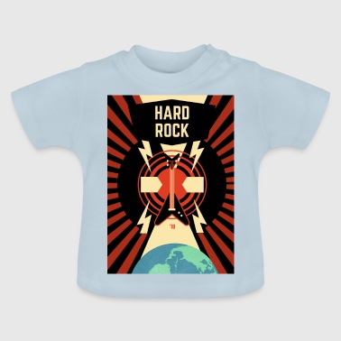 hard rock - Camiseta bebé
