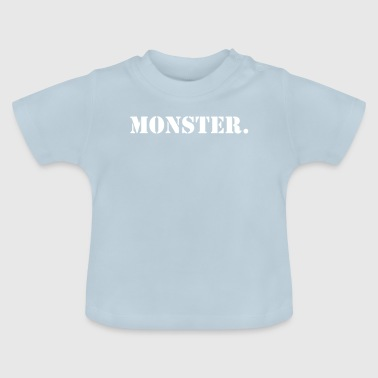 Prononciations populaires Monster Design - T-shirt Bébé