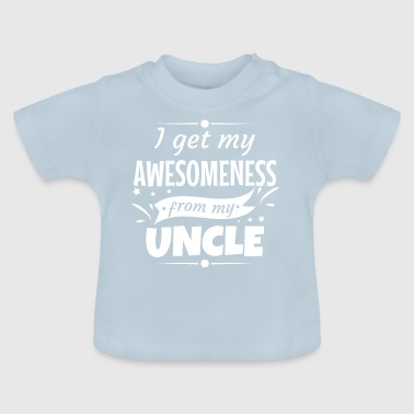 Awesomeness Uncle Uncle Godfather gift - Baby T-Shirt