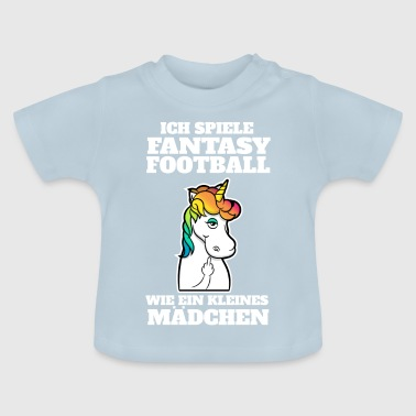 Football Fantasy Football American Football Loser Geschenk - Baby T-Shirt
