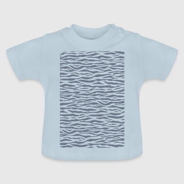 Zebra Stripe Pattern - Baby T-Shirt
