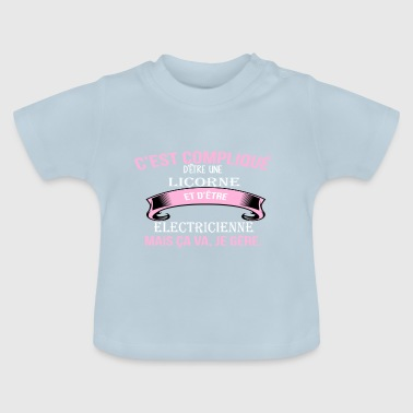 Electricienne - T-shirt Bébé