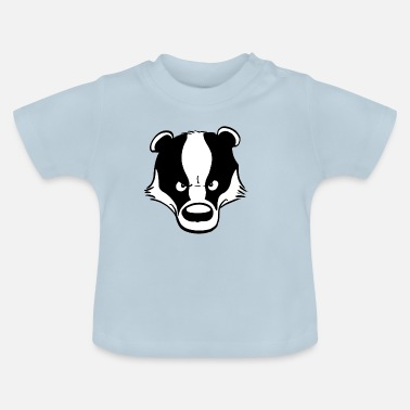 Angry Angry Badger - T-shirt Bébé
