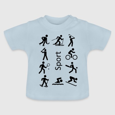 Sports Activities - Baby T-Shirt