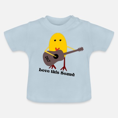 Rock Pig Rocking Chicken - Baby T-Shirt
