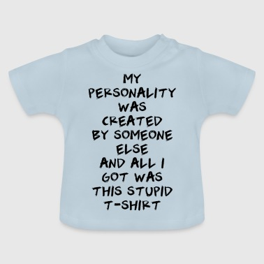 personlighed - Baby T-shirt