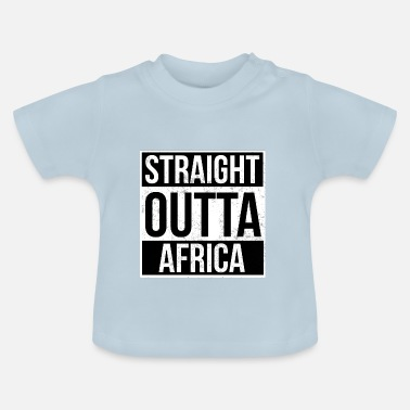Afrika Straight Outta Afrika - Baby-T-shirt