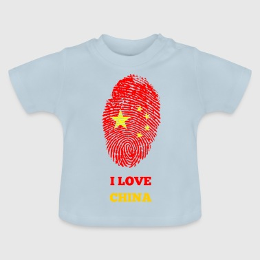 I LOVE KINA - Baby T-shirt