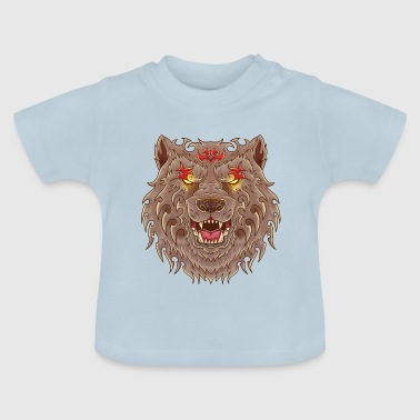 WOLF TATOO - Baby-T-shirt