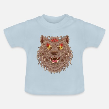 Tatoo WOLF TATOO - Baby-T-shirt
