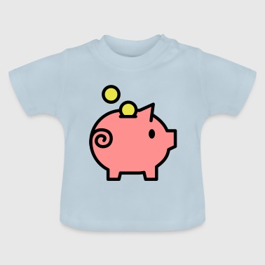 spargris - Baby-T-shirt