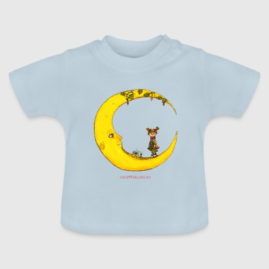 Girl on the moon - Baby T-Shirt