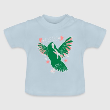 kakapo - fat parrot dance - Baby T-Shirt