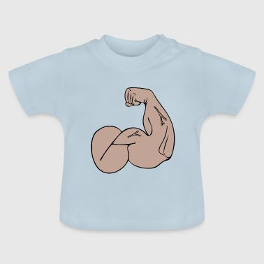 muscle - Baby T-Shirt