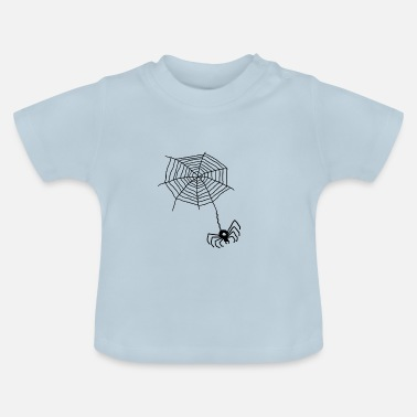 Net Spider on the net - Baby T-Shirt