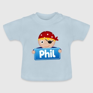 Petit Pirate Phil - T-shirt Bébé