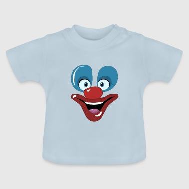 Happy clown face design - Baby T-Shirt