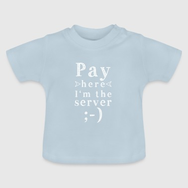 Betal her - Baby T-shirt