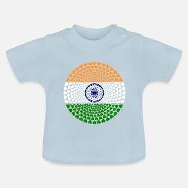 India India INDIA Love Heart Mandala - Baby T-shirt