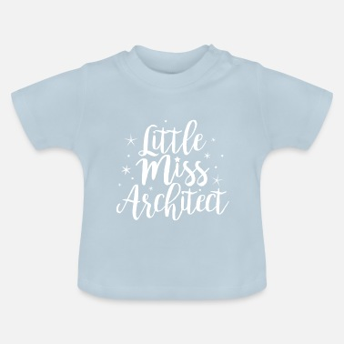 Little Italy Little miss Architect - Baby-T-shirt