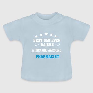 Best Dad Ever Raises Apotheker - Baby T-Shirt