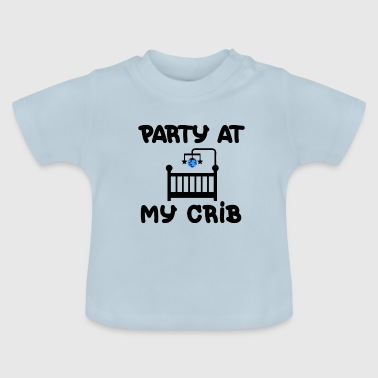 Crib CRIB PARTY BÉBÉ - T-shirt Bébé