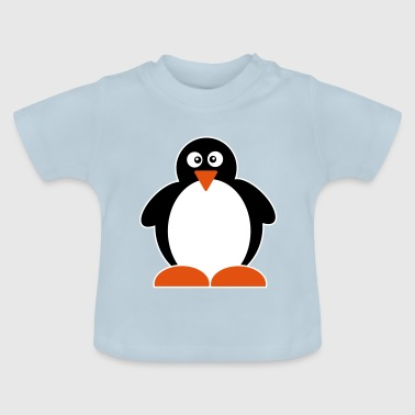 Pingu Penguin | Pingu Bird | North Pole | Winter | tails - Baby T-Shirt