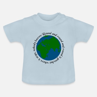 Ronde Rond en rond ... - Baby T-shirt