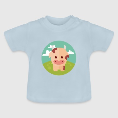 Cow on meadow - Baby T-Shirt