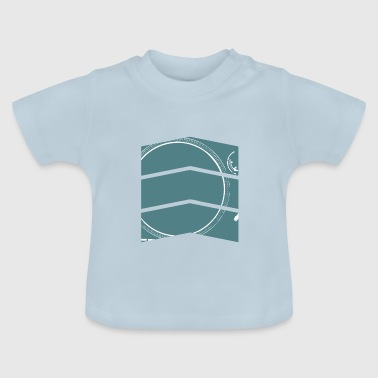 DJ Design Turntable - Baby-T-shirt