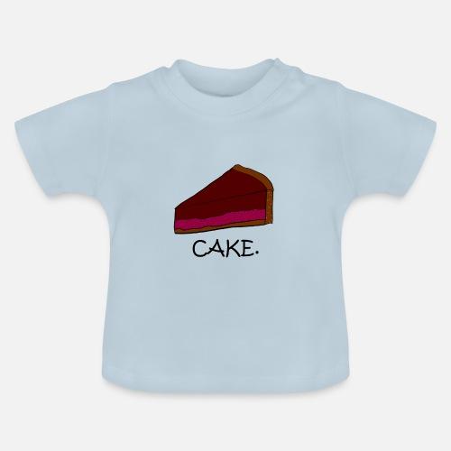 Kuchen Essen Suss Zucker Kaffee Spruche Baby T Shirt Spreadshirt
