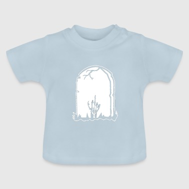 Stinky finger - grave - Baby T-Shirt