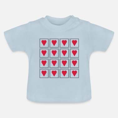 Cards hart Cards - Baby T-shirt