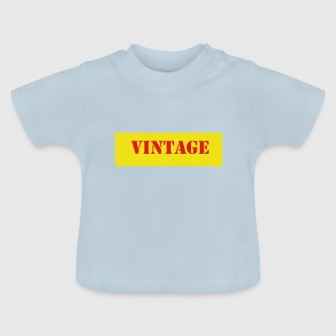 Vintage - Baby T-Shirt