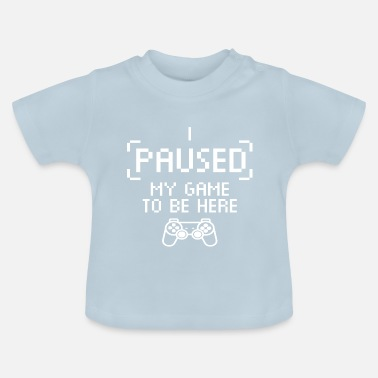 suchbegriff 39 gaming 39 baby t shirts online bestellen. Black Bedroom Furniture Sets. Home Design Ideas